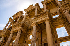 The library of Celsus Stock Photography
