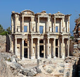 Library of Celsus Royalty Free Stock Images