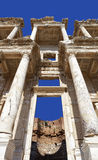 Library of Celsus, ruins of ancient city Ephesus Stock Image