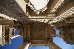 The Library of Celus, Ephesus, Turkey Stock Image