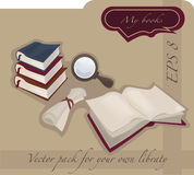 The library collection Royalty Free Stock Image