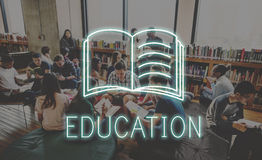 Library College Education Project Work Concept Royalty Free Stock Images
