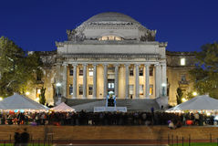 The Library of Columbia University. Low Memorial Library on the campus of Columbia University in New York City Royalty Free Stock Image