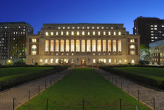 The Library of Columbia University Royalty Free Stock Photos