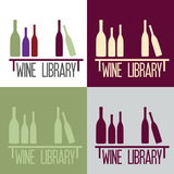Library concept bar Royalty Free Stock Image