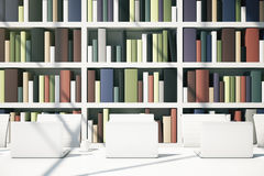 Library concept Stock Images