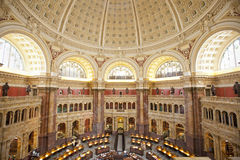 The library of congress building in washington Royalty Free Stock Images