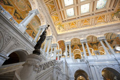 The library of congress building in washington Stock Image