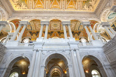 The library of congress building washington dc Royalty Free Stock Image