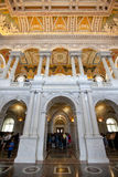 The library of congress building in washington dc Royalty Free Stock Photography