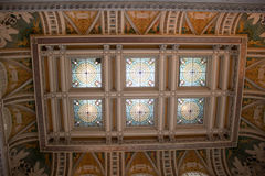 Library of Congress ceiling. Details, Washington, DC Stock Images