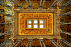 Library of Congress ceiling, Washington, DC Stock Photos