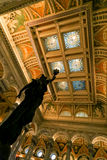 Library of Congress Ceiling Stock Image