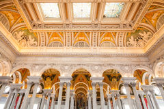 Library of Congress, interior of the building, DC Stock Images