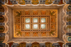 Library of Congress, interior of the building, DC Stock Photography