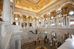 The Library of Congress Royalty Free Stock Photo