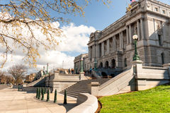 Library of Congress Thomas Jefferson building in Washington DC Stock Image