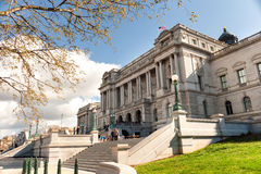 Library of Congress Thomas Jefferson building in Washington DC Royalty Free Stock Photo
