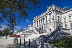 Library of Congress, Thomas Jefferson Building in Washington DC, Stock Photo