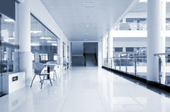 Library corridor Royalty Free Stock Image
