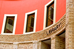 Library entrance Stock Image