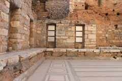 Library in Ephesus antique ruins of the ancient city in Turkey Stock Images
