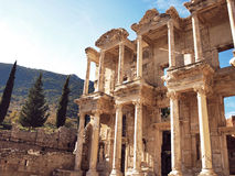 The library at Ephesus Stock Photo