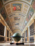 Library of Fontainebleau palace. Stock Images