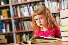 Library goer Stock Photo