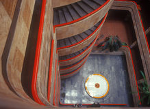 Library hall. View from above. Royalty Free Stock Images