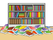Library Illustration Royalty Free Stock Image