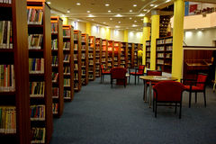 Library interior Royalty Free Stock Photo