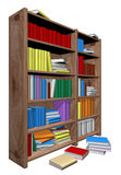 Library. Isolated in withe background Royalty Free Stock Images