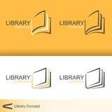 Library. Logo for organization or business - vector vector illustration