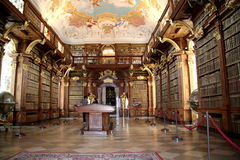 Library in monastery Melk royalty free stock photos