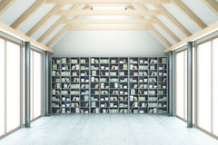 Library with no view Royalty Free Stock Images