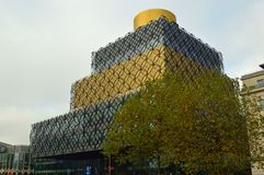 Free Library Of Birmingham And Tree Royalty Free Stock Image - 115583136