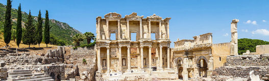 Free Library Of Celsus Royalty Free Stock Image - 46193346