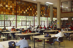 Library Of National University Of Mexico Stock Photos