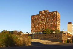 Free Library Of National University Of Mexico Royalty Free Stock Photos - 9760128