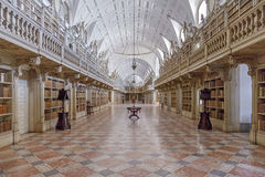 Library Of The Mafra National Palace Stock Photography