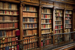 Library of old books Royalty Free Stock Photography