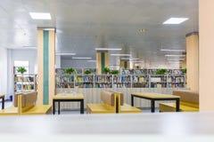 Library reading area royalty free stock photo