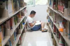 Library and reading people Royalty Free Stock Images