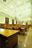 Library reading room Stock Images