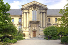 Library in Reims Royalty Free Stock Image