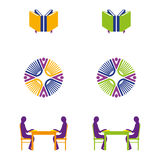 Library. A set of library icons Royalty Free Stock Photography