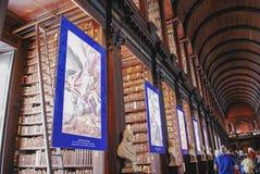 Trinity College Library,University of Dublin stock photo