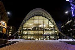 Library of Tromso Royalty Free Stock Images