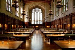 Library. Of the University of Michigan, Ann Arbor stock image
